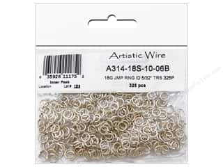 Artistic Wire JRing Chain Maille 18ga 5/32&quot; Silver