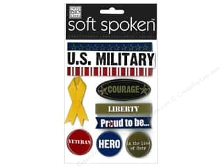 MAMBI Sticker Soft Spoken Military Support Troops