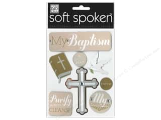 MAMBI Sticker Soft Spoken My Baptism Gold
