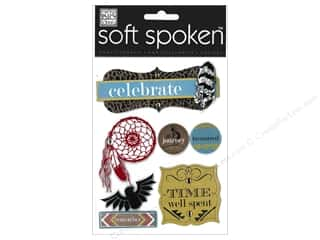Printing Translucent: Me&My Big Ideas Sticker Soft Spoken Ethnic Print