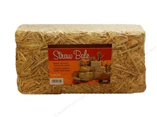 This & That Fall / Thanksgiving: FloraCraft Straw Bales 9 x 9 x 18 in.