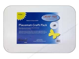 Bosal Craf Tex Plus Placemat 13 x 18 in. Package 4pc