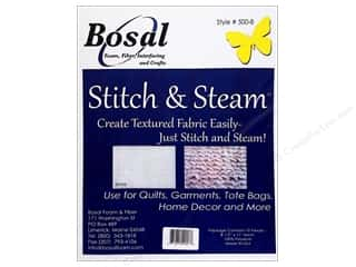 Bosal Stitch &amp; Steam 8.5&quot;x 11&quot; Package 10pc