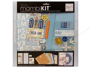 "Religious Subjects Brown: Me&My Big Ideas Kit Scrapbook 12""x 12"" Baptism"