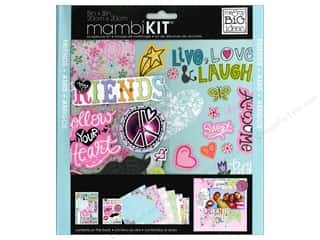 "Scrapbooking Sale Me & My Big Ideas Kits: MAMBI Kit Scrapbook 8""x 8"" Friends"