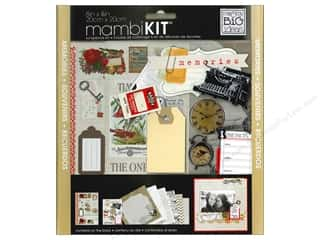 MAMBI Kit Scrapbook 8&quot;x 8&quot; Memories