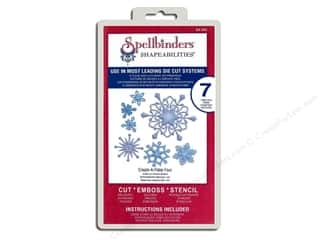 Spellbinders Shapeabilities Die Create A Flake Four