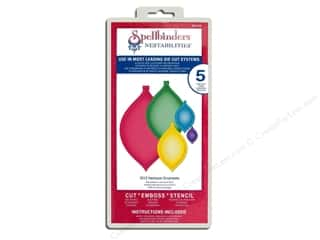 Clearance Spellbinders Presto Punch Template: Spellbinders Nestabilities 2012 Heirloom Ornaments