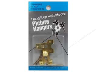 Hardware Hardware Hangers: Moore Picture Hangers With Nail 50lb 2pc