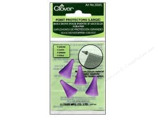 Knit Point  Protector: Clover Point Protector Large 4 pc