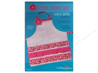 Cabbage Rose Little Chore Girl Apron Pattern