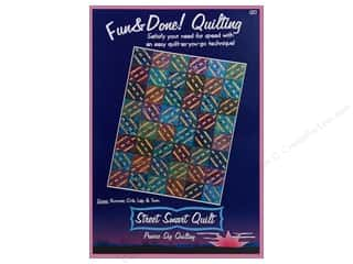 Clearance Clearance Patterns: Prairie Sky Quilting Fun & Done! Street Smart Quilt Pattern