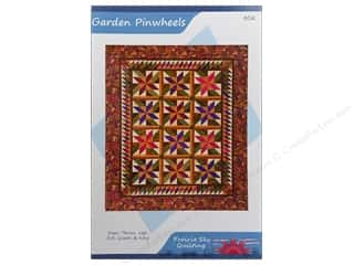 Prairie Sky Quilting Clearance Patterns: Prairie Sky Quilting Garden Pinwheels Pattern