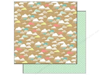 Eclectic: Echo Park 12 x 12 in. Paper Everyday Eclectic Kraft Cloud (25 piece)