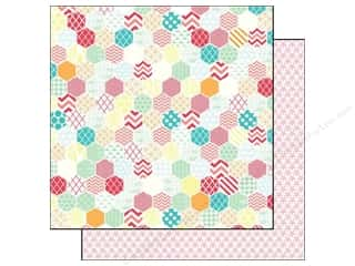 Eclectic: Echo Park 12 x 12 in. Paper Eclectic Large Hexagon (25 piece)