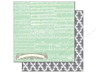 Echo Park Paper 12x12 Everyday Eclectic Music Note (25 piece)