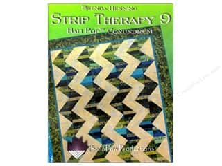 Bear Paw Productions Fat Quarter / Jelly Roll / Charm / Cake Books: Bear Paw Productions Strip Therapy 9 Bali Pop Conundrum Book by Brenda Henning