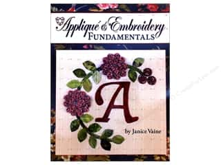 Applique & Embroidery Book