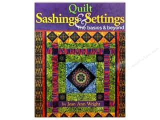 Landauer Quilt Books: Landauer Quilt Sashings & Settings Book