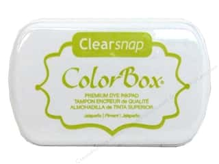 Clearance ColorBox Fluid Chalk Ink Pad Queues: ColorBox Premium Dye Inkpad Jalapeno