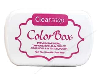 Clearance ColorBox Premium Dye Ink Pad: ColorBox Premium Dye Inkpad Party Pink