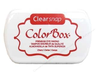 Clearance ColorBox Fluid Chalk Ink Pad Queues: ColorBox Premium Dye Inkpad Cherry