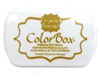 ColorBox Ink, Ink Pads & Brayers: ColorBox Premium Dye Ink Pad by Stephanie Barnard Mustard