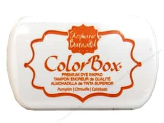 ColorBox Ink, Ink Pads & Brayers: ColorBox Premium Dye Ink Pad by Stephanie Barnard Pumpkin