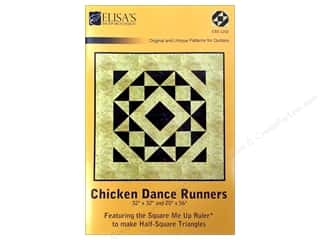 "Elisa's Backporch Design 20"": Elisa's Backporch Chicken Dance Runnners Pattern"