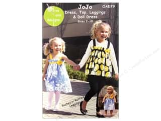 JoJo Dress, Top, Leggings, & Doll Dress Pattern