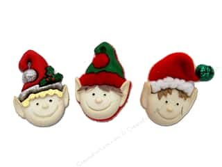 Jesse James Embellishments Holiday Elves