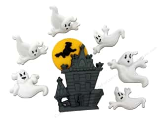 Halloween Spook-tacular Back To School: Jesse James Dress It Up Embellishments Beware Of Ghosts