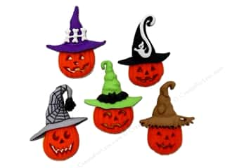 Halloween Spook-tacular Back To School: Jesse James Dress It Up Embellishments Jacks In Hats