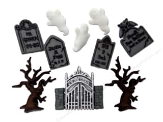 Holiday Sale Jesse James Embellishments: Jesse James Embellishments Graveyard Ghosts