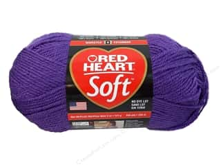 Red Heart Soft Yarn Lavender 5 oz.