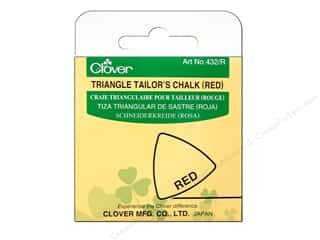 Clover Triangle Tailor Chalk Red