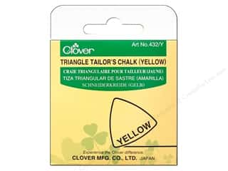Chalk: Clover Triangle Tailor Chalk Yellow