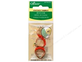 Clover: Clover Thimble Leather 3pc