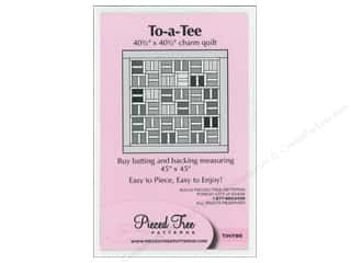 Brookshier Design Studio Charm Pack Patterns: Pieced Tree Tiny To-A-Tee Pattern
