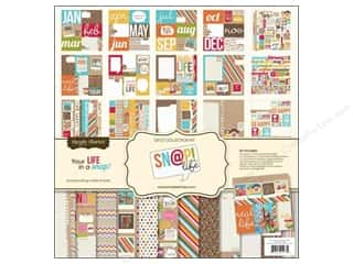 "Captions: Simple Stories Kit Snap Life Collection 12""x 12"""