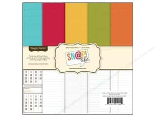 "Simple Stories $6 - $18: Simple Stories Paper Pad 6""x 6"" Snap Life Basics"