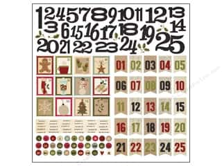 Simple Stories Sticker Hm Holiday Countdown