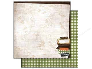 Simple Stories Paper 12 x 12 in. Take A Hike Happy Trails (25 piece)