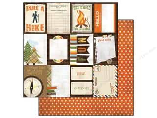 Simple Stories Paper 12 x 12 in.Take A Hike Flash Cards (25 piece)