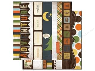 Simple Stories 12 x 12 in.Take A Hike Border Title Strip (25 piece)
