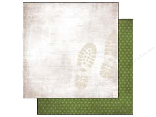 Simple Stories Paper 12 x 12 in. Green Dot/Prints (25 piece)