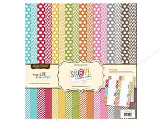 Simple Stories Designer Papers & Cardstock: Simple Stories SN@P! 12 x 12 in. Paper Kit Color Vibe