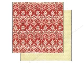 Echo Park 12 x 12 in. Paper For The Record Red Lace (25 piece)