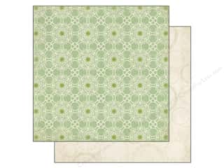 June Tailor Clearance Crafts: Echo Park 12 x 12 in. Paper For The Record 2 Tailored Collection Green Lace (25 pieces)