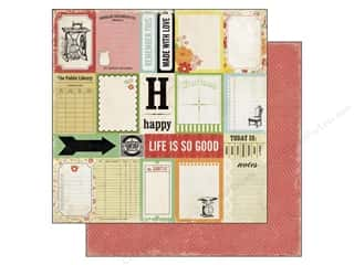 Echo Park Paper Company: Echo Park 12 x 12 in. Paper For The Record 2 Tailored Collection Journaling (25 sheets)